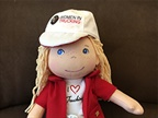 Women in Trucking Designs Plush Trucking Doll