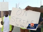 Port Truckers Protest in New Orleans
