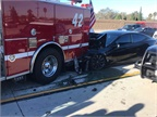 Video: Autopiloted Tesla Rear-Ends Fire Truck