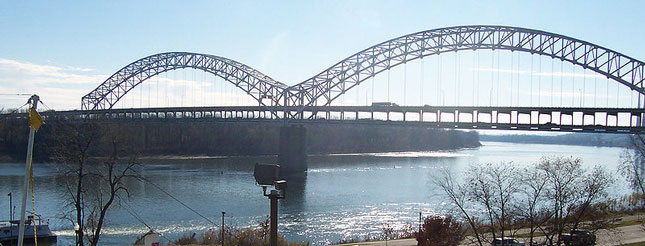 The 50-year-old Sherman Minton bridge has reopened after repairs were made to cracks found in two support beams.
