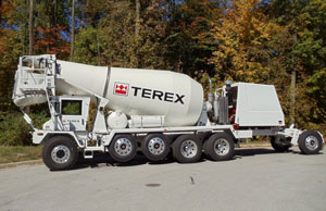 Terex engineers are redesigning their current front-discharge mixer trucks for greater efficiency and ease of servicing. The new trucks might or might not look different to casual eyes.