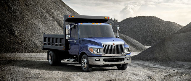 Navistar last month said it was moving its new International TerraStar production from the Garland plant.