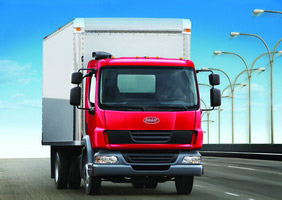 Peterbilt's Model 210 Class 7 low-cab-forward truck takes top honors in the ATD Truck of the Year awards medium-duty category.
