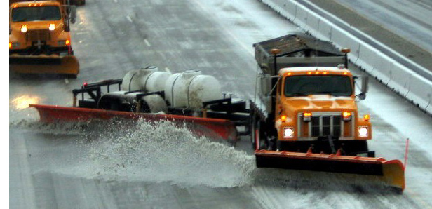 The tow plow costs between $99,000 and $106,000 based on equipment. Photo by MoDOT.