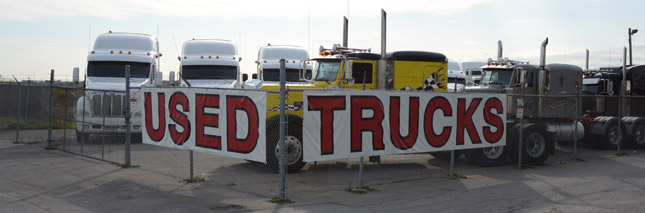 Used truck prices are staying high thanks to sharp increases in the cost of new trucks. Photo by Jim Park