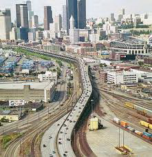 Alaskan Way Viaduct in Seattle