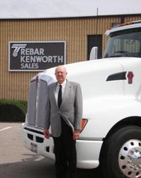 Hatch Barrett of Trebar Kenworth Sales in Boise, Idaho.