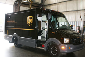 One year of testing showed the UPS composite vehicles are durable, work well in various climates (especially where corrosion from road salt is a problem) and are easily repairable because they are modular.