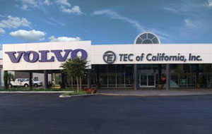 The recently constructed La Mirada location in southern Los Angeles is TEC of California's premiere full-service dealership.