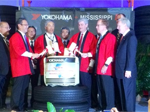 Yokohama Celebrates Launch of U.S. Truck Tire Production
