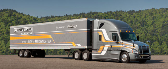 Truck and engine makers are already rolling out GHG-2014-compliant models. The Cascadia Evolution achieved 9.31 mpg on a 2,400-mile cross country trip
