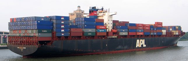 Year-over-year increases in retail container shipping are expected to resume in September. (Photo by Evan Lockridge)