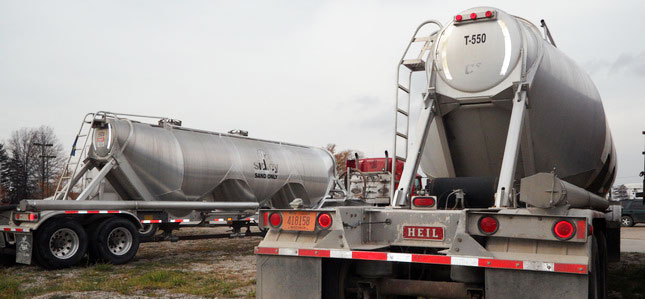 Drivers of tankers delivering to fracking sites are not eligible for the oil-field hours of service exemption.