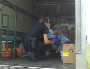 A new law has helped Indiana State Police target trucks that aren't keeping food at proper temperatures.