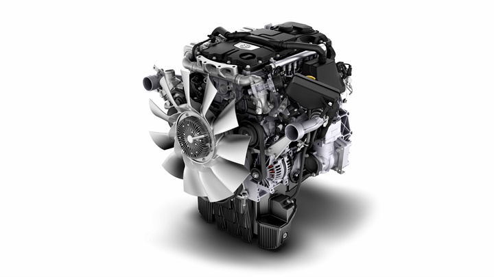 The four-liter DD5 is based on an engine that has been running in