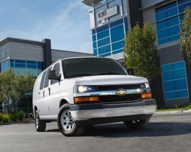 Chevy Express/GMC Savana G1500 and G3500 vans were among