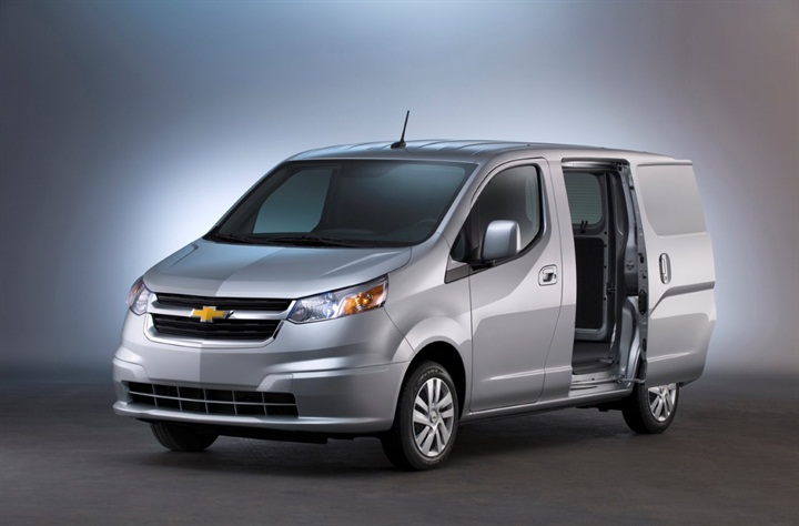 Chevy City Express will compete against Nissan's NV200, on which
