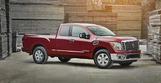 The 2017 Nissan Titan King Cab offers available 6-person seating,