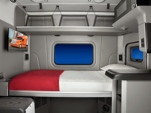 Peterbilt s 58-inch sleeper is made for weight-sensitive applications