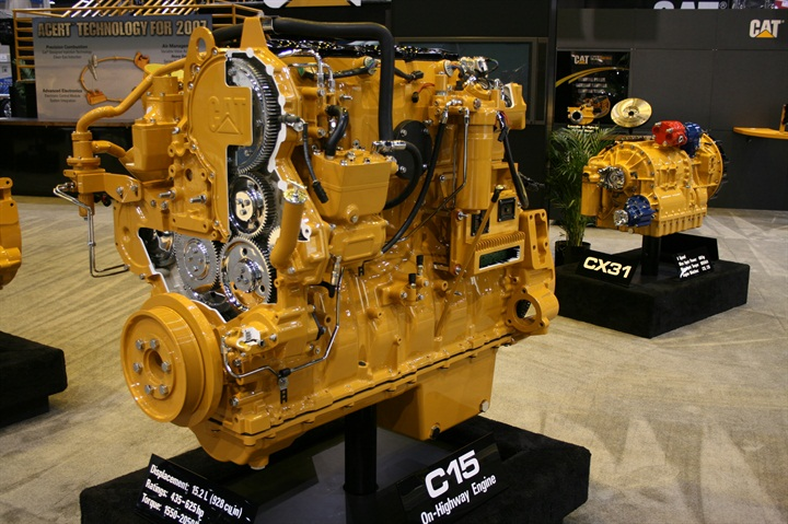 Gallery Caterpillar Advertised Its C15 Engine With Acert