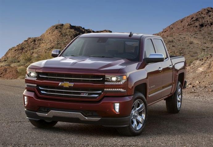 Photo of 2016 Chevrolet Silverado courtesy of GM.
