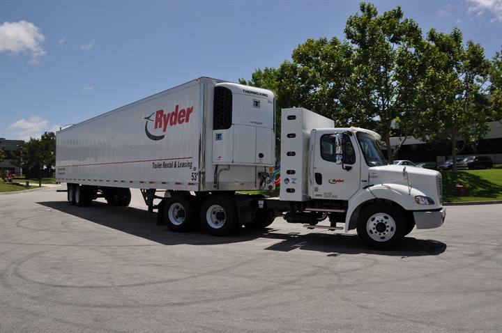 Ryder has CNG and LNG vehicles deployed in customer fleets in