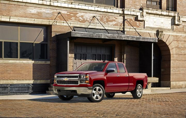 Photo of Chevrolet Silverado courtesy of General Motors.