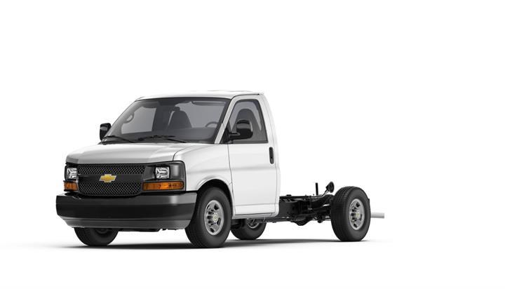 Photo of Chevrolet Express cutaway van courtesy of General Motors.