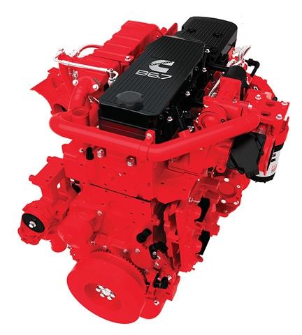 Cummins 2017 B6.7 engine has improved fuel economy.