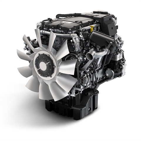 Detroit DD8 engine will launch with both engine and transmission