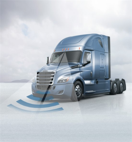 Now standard on the Cascadia, the Detroit Assurance 4.0 suite of
