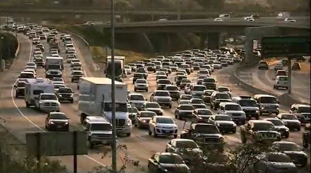 Congestion on a California freeway. Photo: U.S. Dept. of