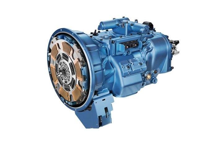 Eaton s Fuller Advantage 10-speed automated transmission. Photo: Eaton