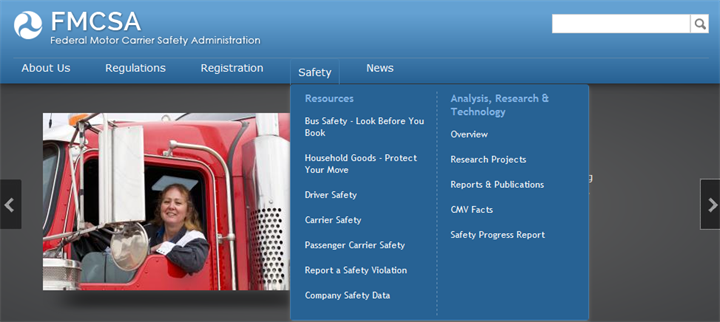 As of March 7, CSA  raw data  is once again publicly visible on FMCSA