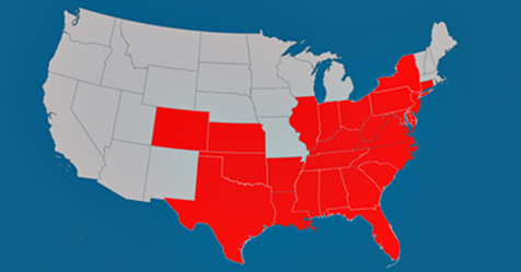 FMCSA is suspending certain trucking regulations in 26 states and the