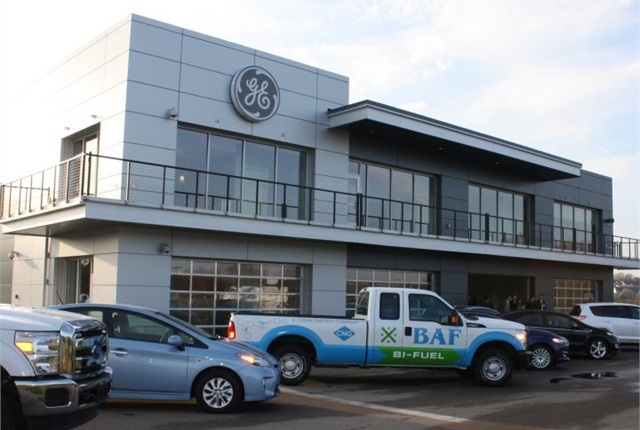 File photo of GE Capital Fleet s Vehicle Innovation Center in Eden