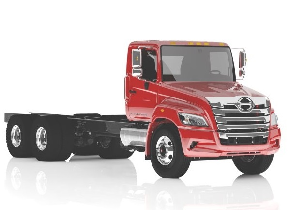 The XL will be available in both straight truck (pictured) and tractor