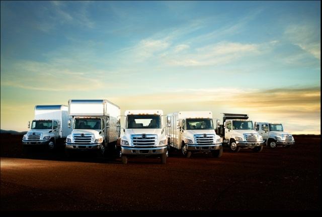 Hino Trucks vocational truck lineup. (Photo: Hino Trucks)