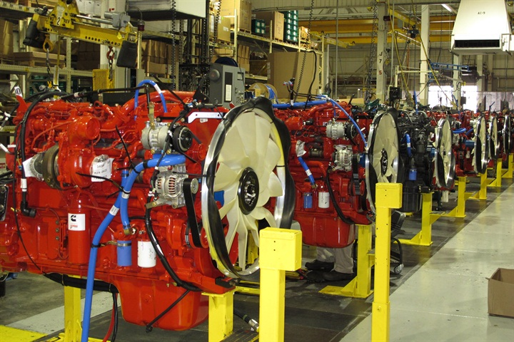 Sales of new heavy duty power units began moderating toward the end of