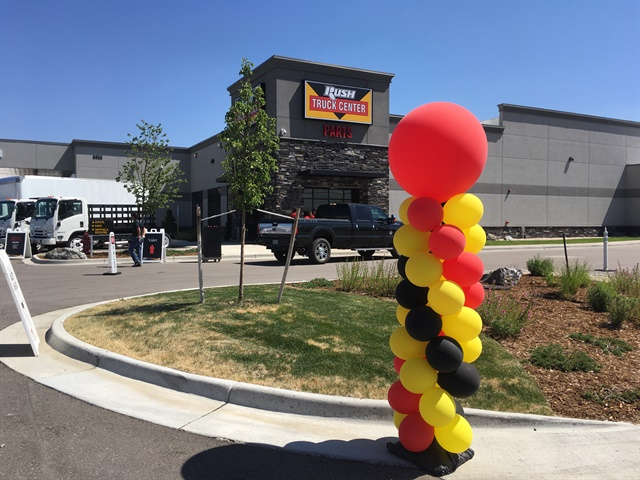 Rush Truck Centers  new Denver facilities expand the dealer network to
