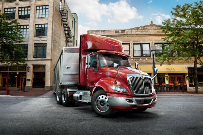 International RH Series regional-haul tractor. Photos: International