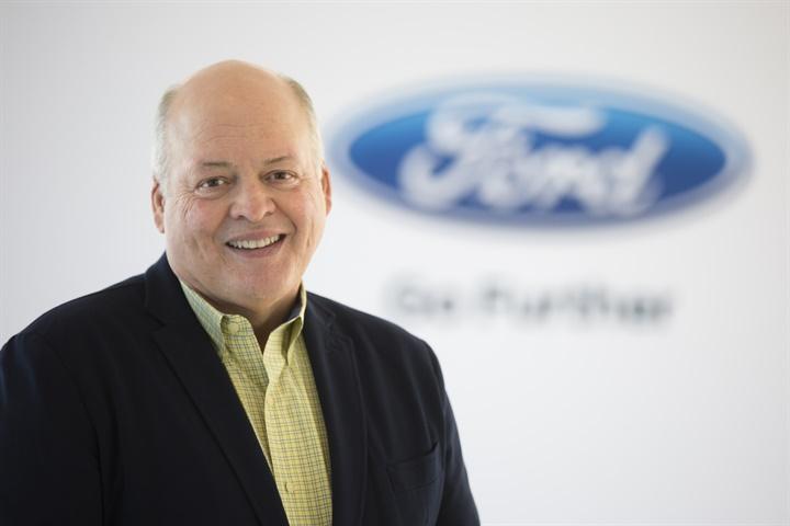 Photo of Jim Hackett courtesy of Ford.