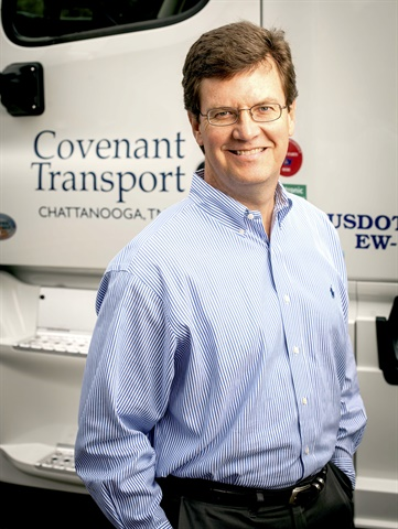 Joey Hogan, president of Covenant Photo: Covenant Transport Services