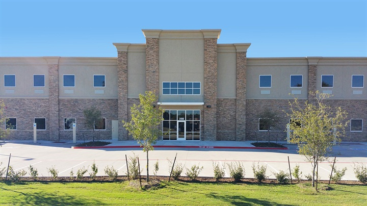 The new KLLM Driving Academy in Lancaster, Texas. Photo: KLLM