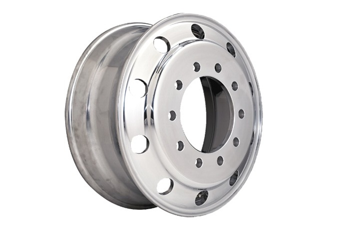 Accuride s new aluminum wheels is said to save 5-7% in weight over
