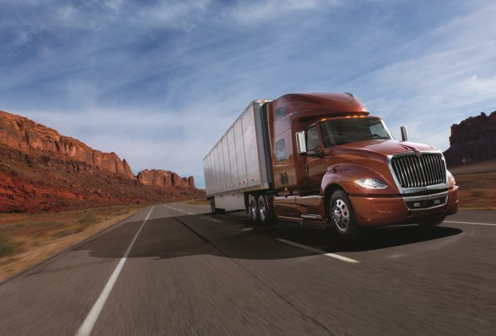 The International LT Series Long Haul. Photo: International Trucks