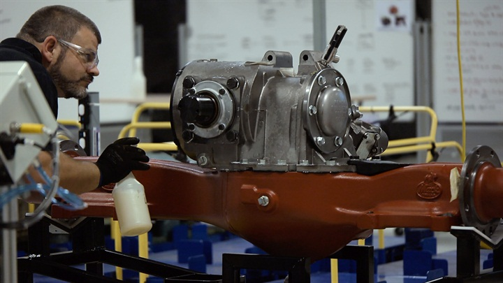 Mack is now assembling its proprietary drive axles in-house. Photo: