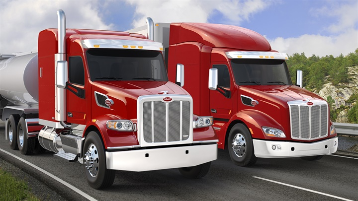 More than 70% of Peterbilt s production in 2016 were Models 579 and