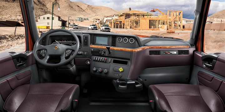 The MV Series was designed with the same driver-centric features seen