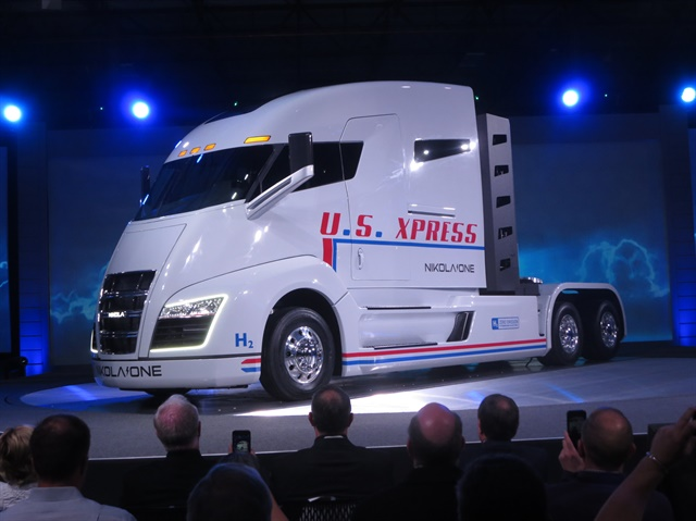 Nikola recently introduced the hydrogen fueled, electric-powered Class